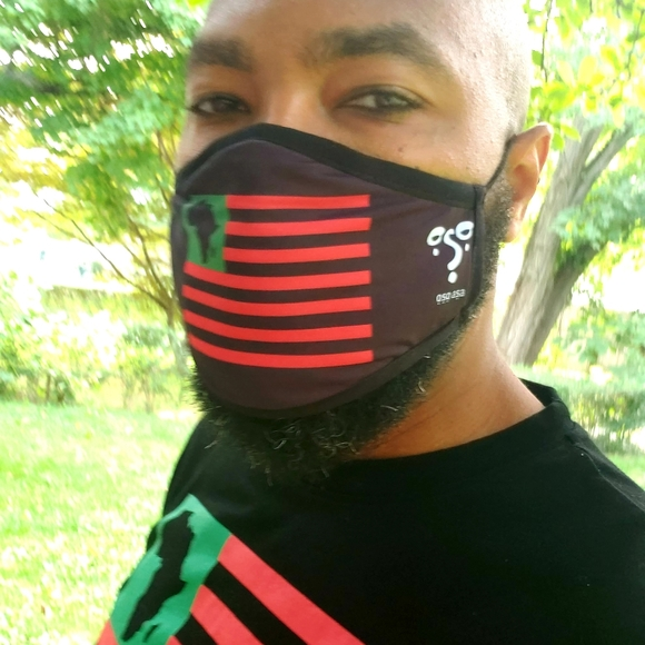 Reusable Face Mask by ỌṢỌ AṢA (2 per order)